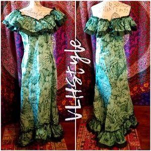 Authentic Made In Hawaii Formal Muu Muu Dress